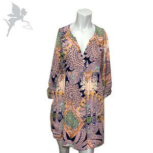 UMGEE Feather print frock